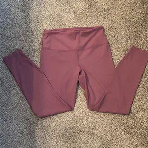 Pink activewear leggings